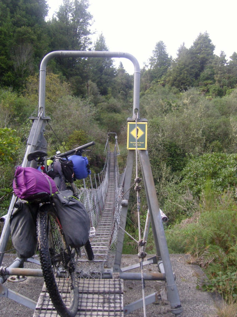 Off road aotearoa swing bridge