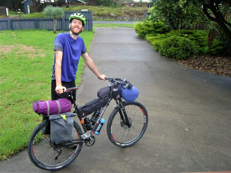 adventurefuel rrig and kit list offroad aotearoa  lewis and bike